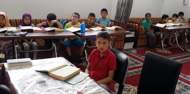 Bağcılar ve Üsküdar da Yaz Okulu Kuran Kursu Faaliyetleri