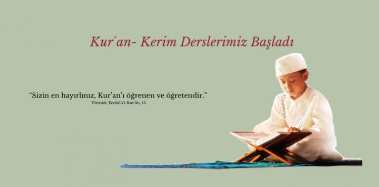 Sizin en hayırlınız, Kur´an´ı öğrenen ve öğretendir